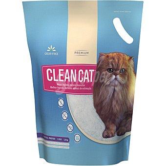 CLEAN CAT Lecho higienico de larga duracion sin olores Paquete 36 kg