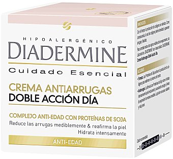 Diadermine Crema antiarrugas de día doble acción  Tarro 50 ml