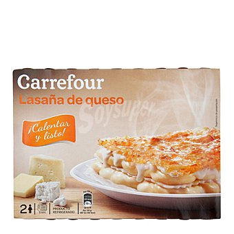 Carrefour Carrefour Lasaña 4 Quesos 400 g