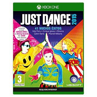 XBOX ONE Videojuego Just Dance 2015  1 unidad