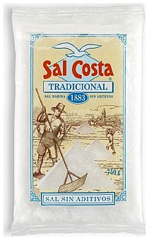 Sal Costa Tradicional sin aditivos 750 g