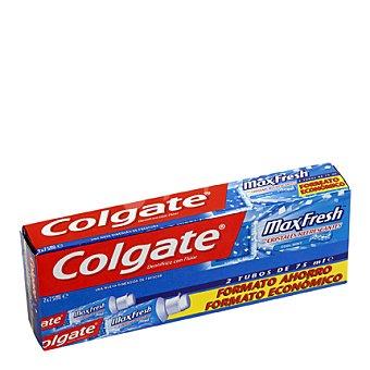 Colgate Dentífrico Max Fresh Cool Mint Tubo Duplo Pack 2x75 ml