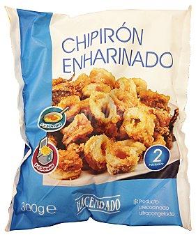 Hacendado Chipiron congelado enharinado Paquete 300 g