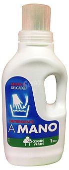 BOSQUE VERDE Detergente lavadora líquido concentrado crema prendas delicadas BOTELLA 1 l