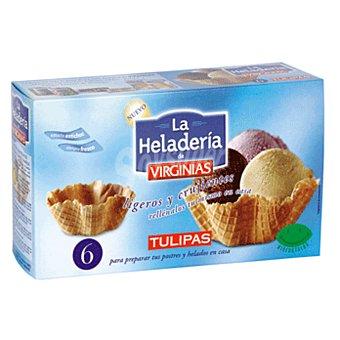 Virginias Tulipas de barquillo para helado Paquete 90 gr