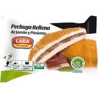 Lara Pechuga rellena de jamón-pimiento Bandeja 470 g