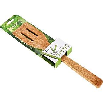 Gerimport S/M Pala recta de bambú con agujeros 30 cm