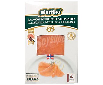 Martiko Salmón noruego ahumado 80 gramos