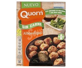 QUORN Albóndigas vegetales sin carne con alto contenido en proteínas especial para ovo-vegetarianos 200 gramos