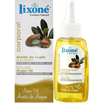 LIXONE Aceite Corporal de Argán ecológico Frasco 100 ml