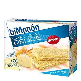 Bimanán Crackers de queso 450 gramos