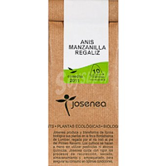 Josenea Infusión de anís-manzana-regalíz Paquete 20 g