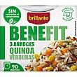 3 arroces, quinoa y verduras Benefit 250 g Brillante Benefit