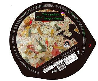 Auchan Pizza de Pollo 400 Gramos