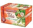 Tila con hojas de naranja 20 bolsitas Pompadour