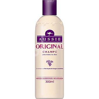 Aussie Champú original con extracto de flor de pata de canguro australiano Frasco 300 ml