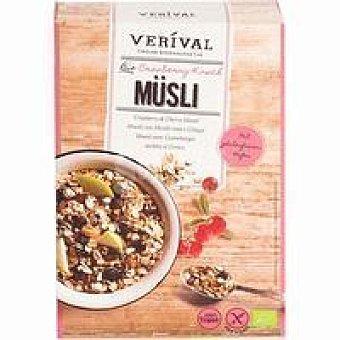 Verival Muesli cranberry&cherry Caja 300 g