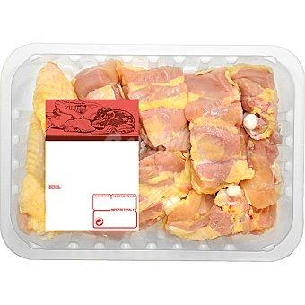 PUJANTE Pollo campero troceado para paella peso aproximado bandeja 1 kg Bandeja 1 kg