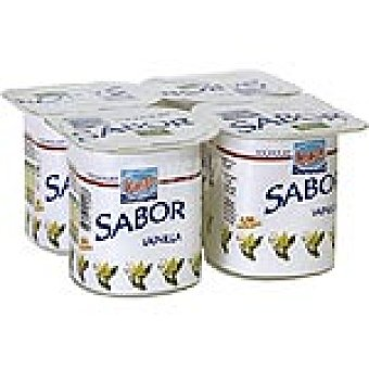 Kalise Yogur Sabor Vainilla Pack 4 Unidades de 125 Gramos