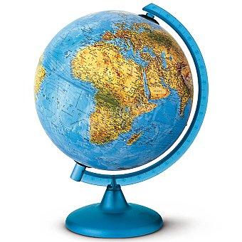 NOVA RICO Esfera del mundo con luz en color azul