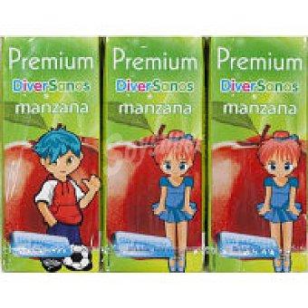 Premium Zumo de manzana Pack 6x20 cl
