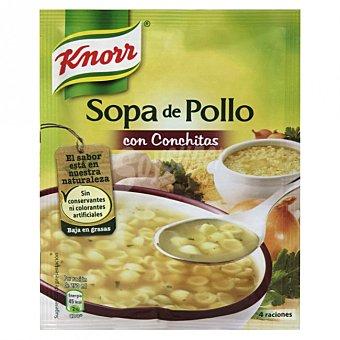 Knorr Sopa de pollo con conchitas Bolsa 70 g