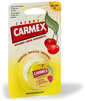 CARMEX Bálsamo hidratante para labios cereza SPF-15 Tarro 7,5 g