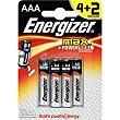 Pila Max +power alcalina AAA Blister 6 u Energizer