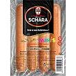 Minis salchichas frankfurt sabor suave 4 unid sin gluten sin lactosa envase 155 g envase 155 g Michael Schara