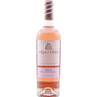 Pago de cirsus Vino rosado gran cuvee especial D.O. Navarra  botella 75 cl