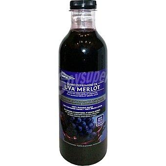 Hipercor Zumo exprimido de uva merlot Botella 750 ml
