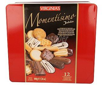 Virginias Surtido de bolachas belgas 800 gramos