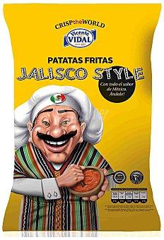 V. VIDAL Patatas fritas Jalisco Bolsa de 120 g