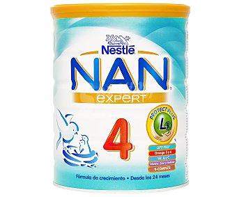 Nan Nestlé Leche infantil en polvo de continuación Expert, a partir de 24 meses con hierro y 13 vitaminas Bote 800 g