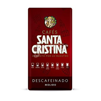 Santa Cristina Café molido natural descafeinado Paquete 250 g