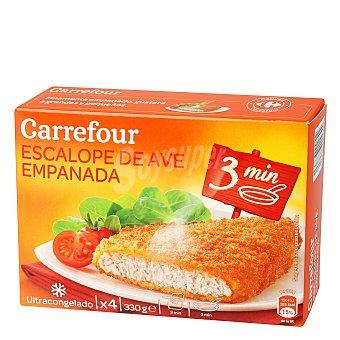 Carrefour Pollo empanado muy crujiente 330 g
