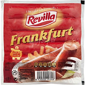 Revilla Salchichas Frankfurt Envase 140 g