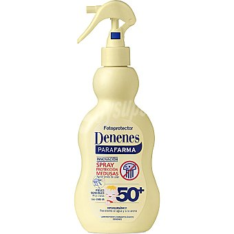 Denenes Leche solar FP-50+ antimedusas pieles sensibles Spray 200 ml