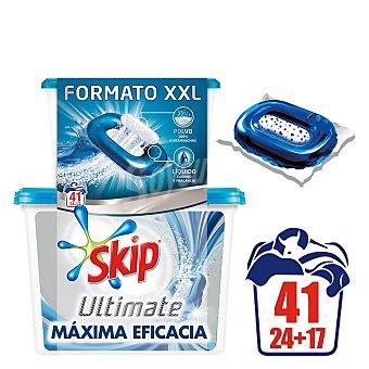 Skip Detergente en cápsulas Ultimate doble acción 41 lavados