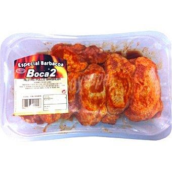 BOCA2 Alas de pollo adobadas Bandeja 550 g