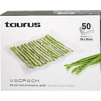 Taurus Bolsas para envasar al vacio 30 x 35 cm caja de 50 unidades Caja de 50 unidades