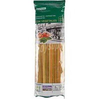 Eroski Spaguetti con vegetales Paquete 500 g