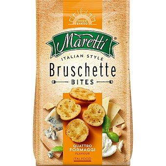 Maretti bocaditos de pan tostado a los cuatro quesos estilo italiano bolsa 85 g