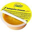 Salsa jalapeño cheddar Tarrina 90 g Zanuy