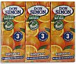 Zumo de naranja exprimi. s/ pulpa Pack 3x20 cl Don Simón