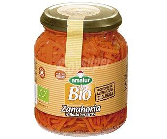Amalur Zanahoria de cultivo ecológico rallada en tiras 230 Gramos