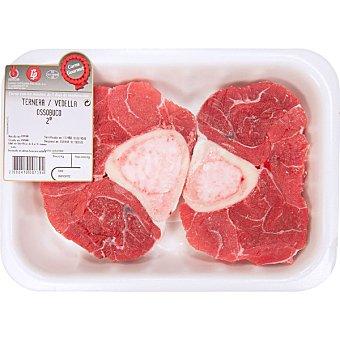 Gourmet Ternera ossobuco peso aproximado bandeja 500 g 2 unidades