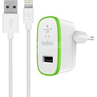 Belkin Adaptador de corriente Belkin F8M667vf04-WHT universal con cable lightning