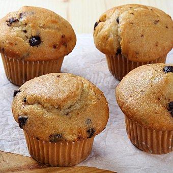 Carrefour Muffin pepitas de choco  4 ud