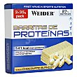 Barritas de proteínas sabor chocolate blanco pack 3x35 g WEIDER